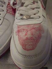 Vintage 2004 Nike Jordan Air Force 1 Custom Jordan Maze Face Size 10.5 AF-1 '82