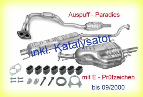 />09//2000+Kit F48,F08 Abgasanlage inkl.Katalysator Opel Astra G CC 1.6 16V T98