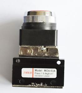 "New 1/8"" MOV-03A Thread Push button Switch Pneumatic Reversing Valve"