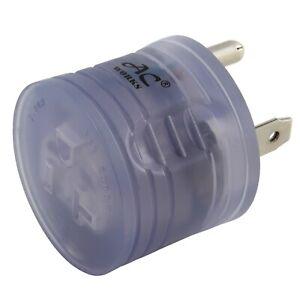 30 Amp RV Plug NEMA TT-30 to NEMA 5-20 Household Connector Adapter  by AC WORKS®