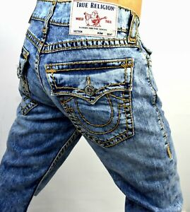 True-Religion-329-Men-039-s-Geno-Relaxed-Slim-Super-T-Jeans-102982