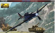 Academy 2 in 1 IL-2M & Panther D Special Plastic Model Kit 1/72 Aero Gift 12538
