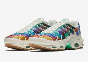 regard détaillé b2811 f5fe1 Details about Nike Air Max Plus Tn Tuned Print Galaxy White Rainbow Sizes  8-11 AR1949-100 New