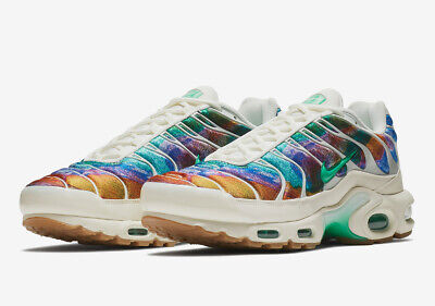 Nike Air Max Plus Tn Tuned Print Galaxy White Rainbow Sizes 8 11 AR1949 100 New | eBay