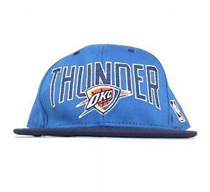 2232b160 NBA Oklahoma City Thunder Adidas Baseball Cap Hat SnapBack Men's ...