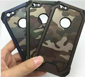 san francisco d19ef 6b2ca Details about iPhone 6S Army Military Camo Case. Camouflage Phone Cover