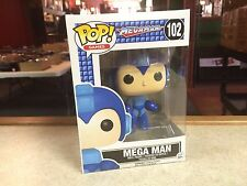 2016 Funko POP! Video Games Megaman MEGA MAN HIMSELF #102 Vinyl Figure MIB