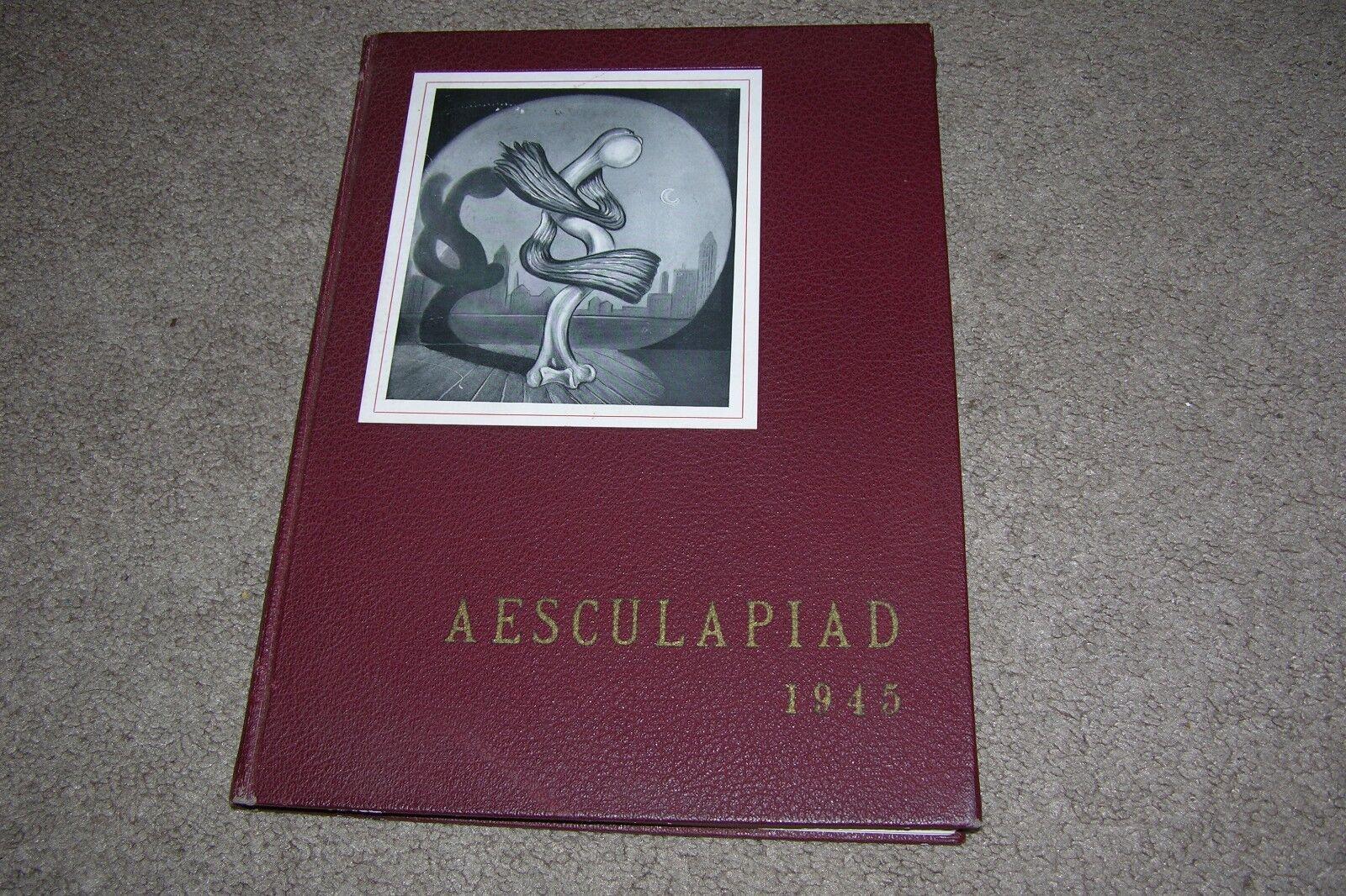 1945 Harvard Medical School Yearbook, Aesculapiad 1