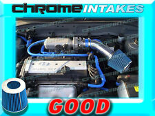 BLUE NEW AIR INTAKE KIT FOR 01 02 03 04 05/2001-2005 HYUNDAI ACCENT WITH 1.6L