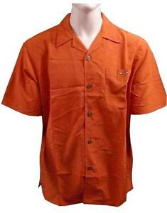 OAKLEY-MENS-DRESS-CASUAL-SHIRT-RUST-CHOICE-OF-SIZES-RRP-79-OVERSIZED-NEW