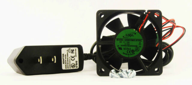 60mm 25mm New Case Fan Kit 110V 115V 120V AC 17CFM Sleeve Brg 1840*