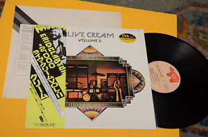 CREAM-LP-LIVE-VOL-II-ORIG-JAPAN-INSERTO-OBI-EX-TOP-COLLECTORS-AUDIOFILI