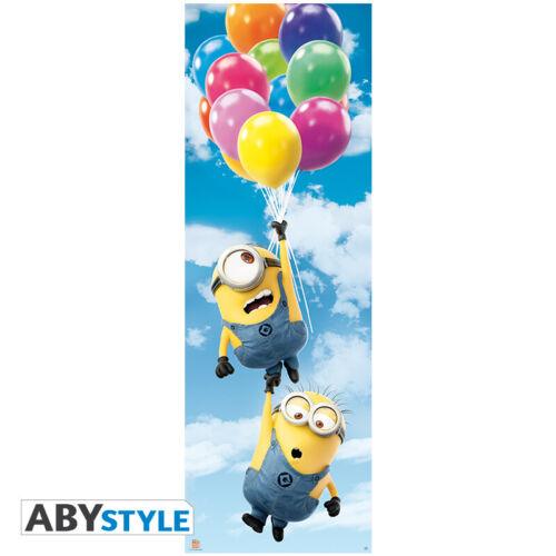 Minions Balloons Door Poster