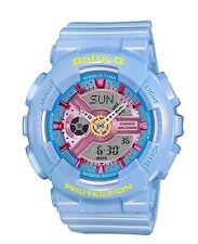 Casio Baby-G BA110CA-2A Neo Pastel Blue Anadigi Watch