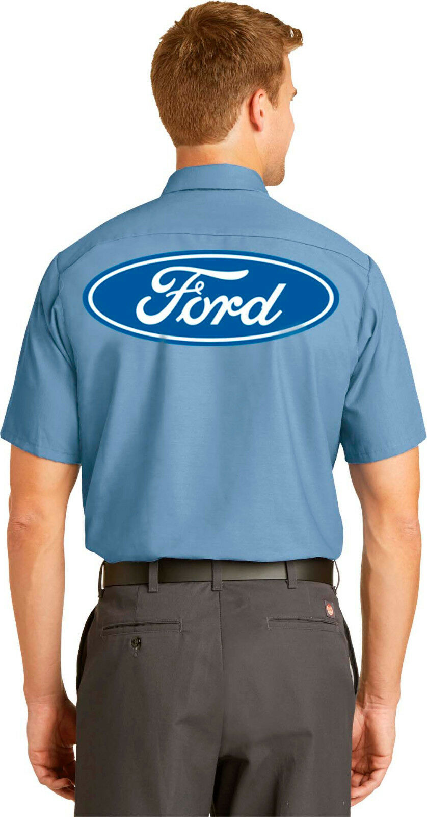 96393df95d Mens Ford Mechanic Shirt vintage Auto Repair Size Small to 4X Free Shipping