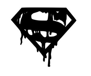 Death of Superman STICKER VINYL DECAL DC COMICS LEX LANE BAIN BATMAN CLARK KENT