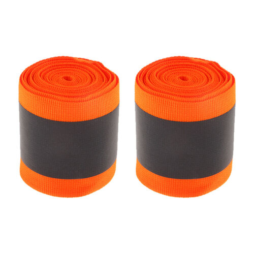 2 Rollen reflektierende Gurtbandstreifen für Sicherheitsbekleidung 5 cm 3