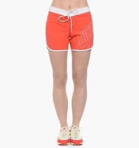 Nike Azores Shorts - Women's Size Medium Daring Red/White