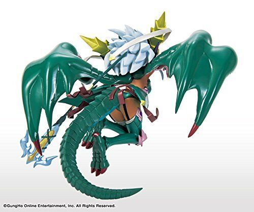 Puzzle /& Dragons Green Sonia Statue Figure Collection Eternal Jade Drag PAD PND