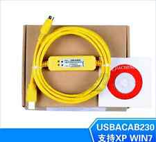 USBACAB230/USB-DVP Programming/Data download cable FOR DVP Series PLC win7