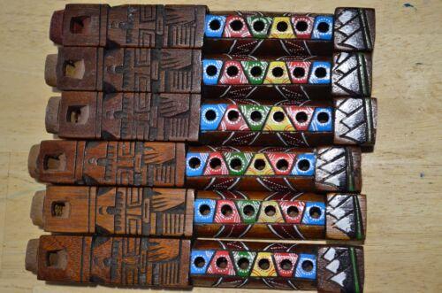 "Artesanal Inca Tarka Peru Wooden Quena Flute one  7/"" x 1/"" Peruvian"