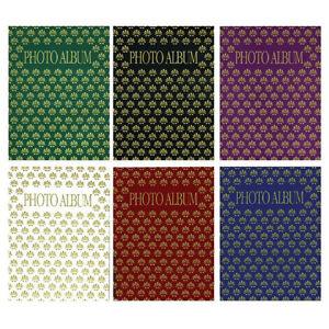 "20 Pcs Pioneer Flexible Designer Color Covers Photo Albums Holds 36 4x6"" Photos"