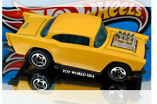 1999 Hot Wheels Arco Hauler '57 Chevy Limited Edition Yellow