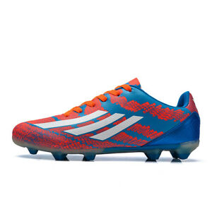 Fashion-Men-039-s-Kids-Soccer-Shoes-Indoor-Turf-Soccer-Cleats-Football-Shoes-Nail