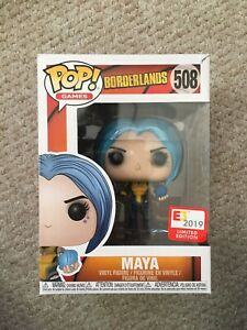 E3 2019 Funko POP *BRAND NEW* Borderlands: Maya