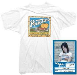ab44ff5f8 Joan Jett T-Shirt - Peaches Records Tee | Officially Licensed | eBay