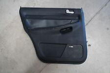 00-02 Audi B5 A4 S4 OEM Driver Side Rear Door Panel Onyx Black