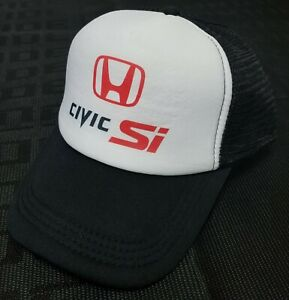 f997592d6cae3 JDM HONDA CIVIC SI RACING PRINTED CURVED BILL HAT CAP Snapback ...