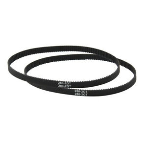EP_ GT2 Closed Loop Timing Belt 110-852mm Rubber Synchronous 3D Printer Parts Gr