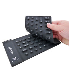 Silicone Spillproof Bluetooth Black MyType Keyboard for Android & iPad