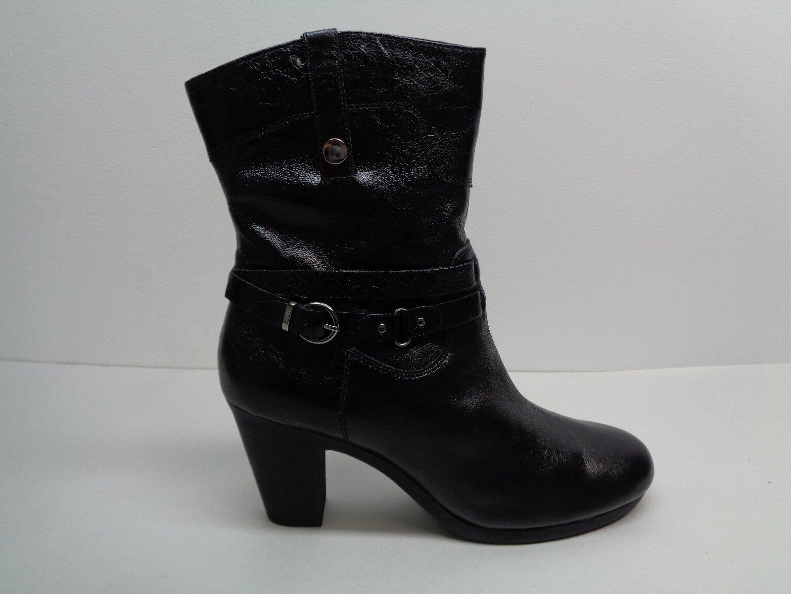 Aerosoles Größe M 11 M Größe SERIAL PORT Leder Ankle Heels Stiefel New Damenschuhe Schuhes 40dcbf