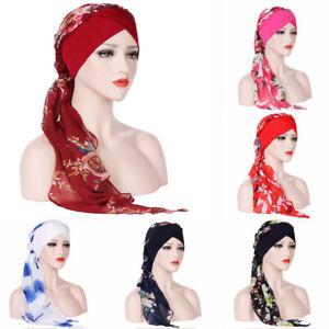 Women-Hijab-Soft-Shawl-Flowers-Printed-Head-Scarf-Muslim-Turban-Chemo-Hat