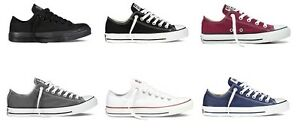NEW Ladies Mens Converse All Star Ox CT Low Trainers UK Size 4 5 6 7 8 9 10 11