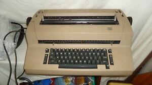 IBM Selectric ii Correcting typewriter Working