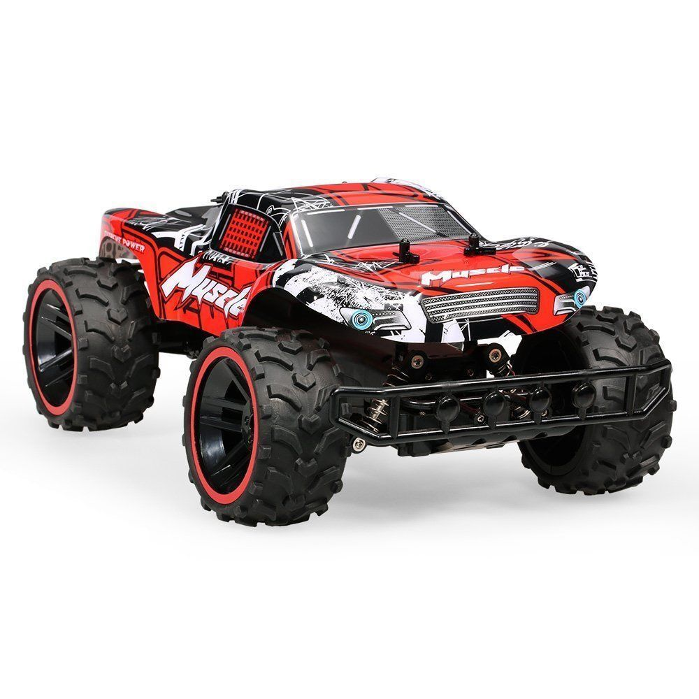 1 12 2.4G Speed Racing Remote Control  Muscle Cars Red & Green - FREE DELIVERY