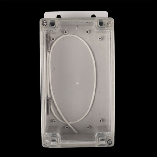 158x90x65mm Clear Waterproof Plastic Electronic Project Box Enclosure Cover/_CH