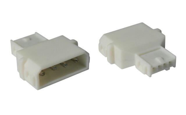 """Stromadapter von 5,25"""" (13,34cm) IDE 4-PIN Molex -> Floppy 3,5"""" (8,89cm) Power"""