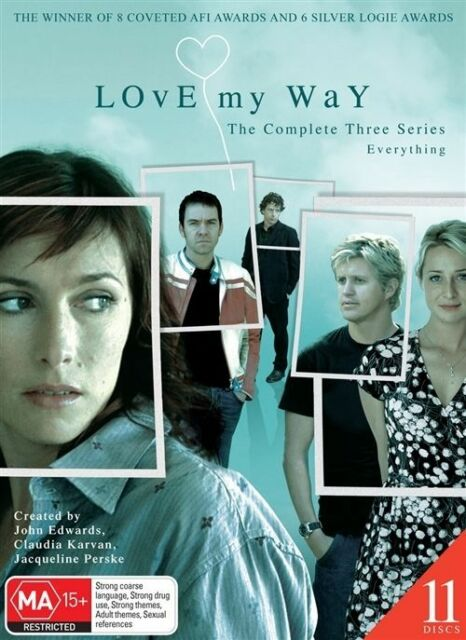 Love My Way : Series 1-3 (DVD, 2008, 11-Disc Set) No scratches on Discs