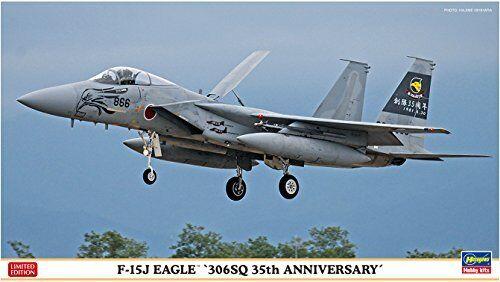 Hasegawa 1 72 F-15J Eagle 306SQ 35th Anniversary Model Kit NEW from Japan