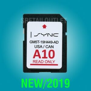 FORD-LINCOLN-A10-MAP-UPDATE-A9-NAVIGATION-GPS-SD-CARD-SYNC-2-2019-USA-CANADA