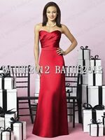 Formal Long Ball Gown Party Prom Bridesmaid Evening Dress SZ 6-8-10-12-14-16-18