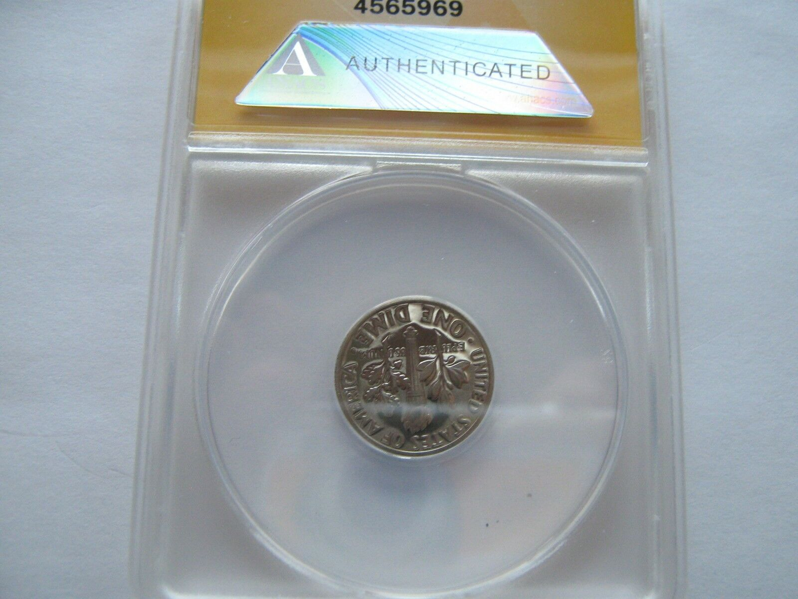 Roosevelt Dimes , ANACS Certified , Lot of 4