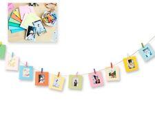 10 Pcs Paper Photo Frame Set For Fujifilm Instax Polaroid mini 9/8/50s/25/7