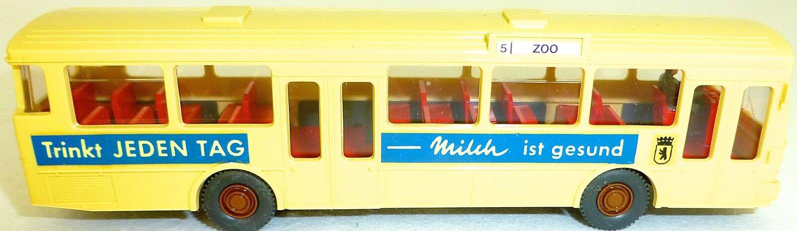 5 zoo trinkt milch milch mb o305 gesupert aus wiking - bus nach gd4 å h0