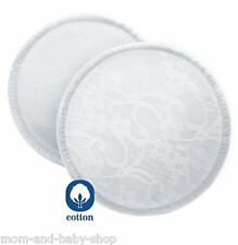 PHILIPS AVENT WASHABLE BREAST PADS NURSING COTTON BRA PADS X6 SCF155/06