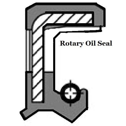 Metric Oil Shaft Seal Single Lip 80 x 100 x 10mm   Price for 1 pc